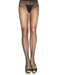 91D-219001 - SexyPlay.es  Legavenue pantyhouse negro con brillantes