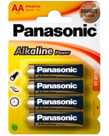 91D-219106 - SexyPlay.es  Panasonic bronze pila alcalina aa lr6 blister*4