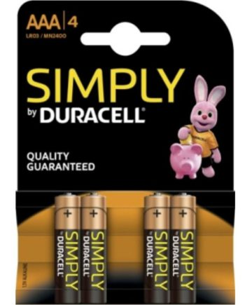 91D-219684 - SexyPlay.es  Duracell simply pila alcalina aaa lr03/mn2400 4ud