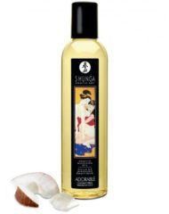 91D-222702 - SexyPlay.es  Shunga erotic massage oil adorable brillantes de coco 250ml