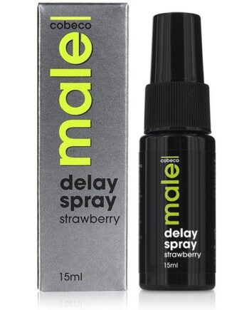 91D-199905 - SexyPlay.es  Male spray retardante sabor fresa 15ml