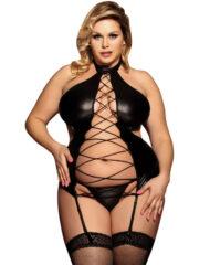 91D-220664 - SexyPlay.es  Subblime queen plus corset fetish entrelazado central