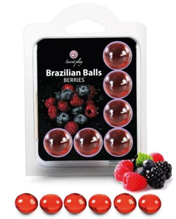 91D-194822 - SexyPlay.es  6 hot balls lubricante con aroma de frutas